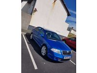 2008 SKODA OCTAVIA VRS TDI 170 BLUE ( IMMACULATE CONDITION) F.S.H