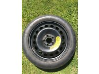 Michelin TEX space saver- 125/80 R17