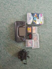 Sega Game Gear and games
