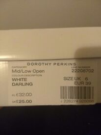 Brand new Dorothy Perkins ladies shoes with box