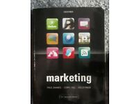 Marketing book by Paul Baines and Chris fill 2nd edition.