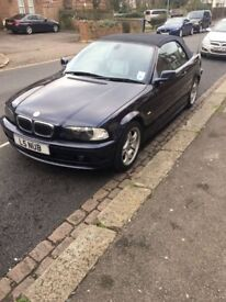 BMW 3 Series Convertible With Custom Numberplate