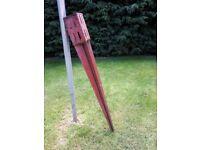 Fence post spike