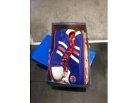 Adidas Superstars NBA New York Knicks (Very Rare - Never Worn) Size - 10 1/2