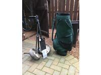 PiNG Golf Bag & trolley