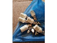 Honeywell radiator valves x6