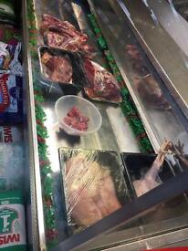Butchers display