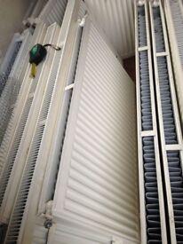 Double-Panel Single Convector Radiator 600 x 1000mm White