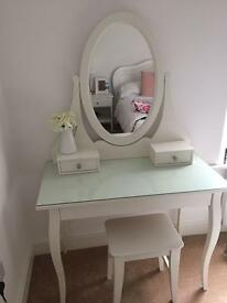 IKEA White Dressing Table