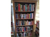 Tall, Wide and Extra Deep Bookcase - Oak Effect