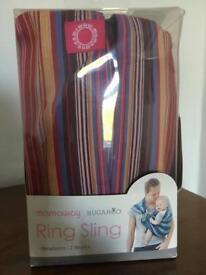 Hugaroo Mamaway Baby Ring Sling Carrier
