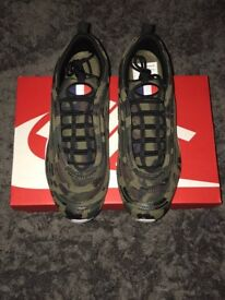 Nike air max 97 country camo France pack Rare Uk size 9 And SOLD out worldwide