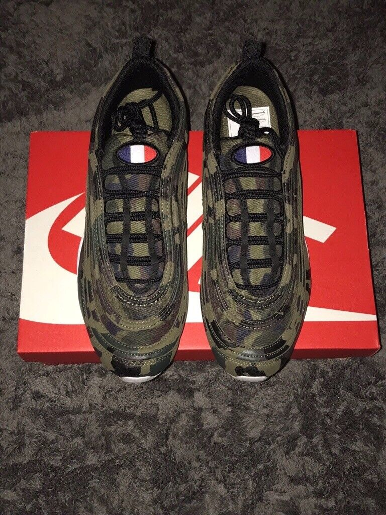 fb374691134df ... switzerland nike air max 97 country camo france pack rare uk size 9 and  sold out