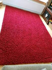 Large Red rug, fantastic condition