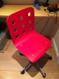 Ikea red office chair £5 pickup only
