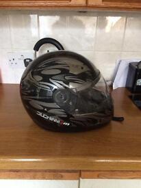 Small size duchini d409 motorbike helmet