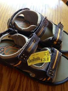 Boys' sandals; brand new with tags, size 5Y (youth, not toddler) Kitchener / Waterloo Kitchener Area image 1
