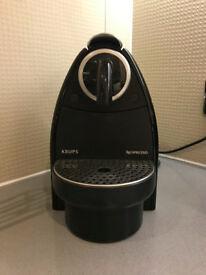 Used Nesspresso Krups Coffee Machine for sale, £20.00