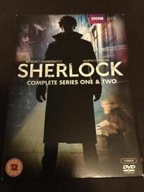 SHERLOCK Series 1&2 DVD