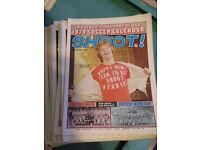1979 x 36 Shoot Football magazines