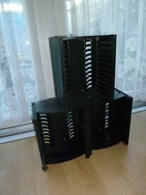 dvd holders or xbox or ps games holders