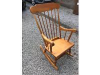 Woooden Rocking Chair