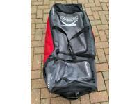 Cricket bag Slazenger with wheels.