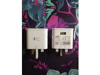 JOB LOT 50xGENUINE Samsung Galaxy S6,S7,S8 Wall Charger Adapter Plug Adaptive Fast Charge EP-TA20UWE