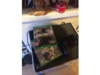 Xbox one console 500gb with controller and Fifa 2017 and call of duty infinite warfare