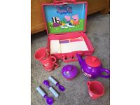 peppa pig childrens tea party set