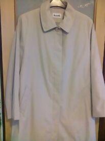 Ladies cream coat new