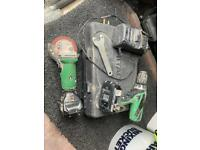 Cordless combi drill & grinder