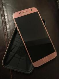 Samsung S7 Rose Gold IN PERFECT CONDITION