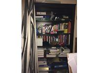 Free large Black Ikea bookshelf