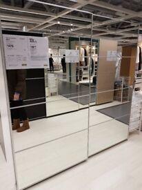 Ikea Auli combination wardrobe x 3