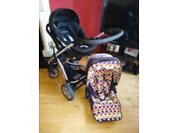 Mama's and Papa's Sola Pram and Accessories