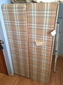 Free for immediate uplift - Double Bed Divan Base