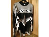 Motocross top and trousers