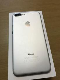 iPhone 7 Plus 128gb Rose gold and white silver unlocked