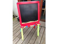 Early Learning Centre double sided children Wooden Easel
