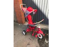 Radio Flyer Red 4-in-1 trike (foldable)