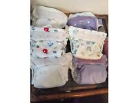6 x nearly new bambino mio miosolo cloth nappies