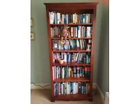 Tall Solid Yew Bookcase