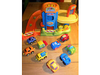Childrens toy garage