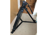 Manfrotto 546GB Tripod & Manfrotto 501hdv Fluid head