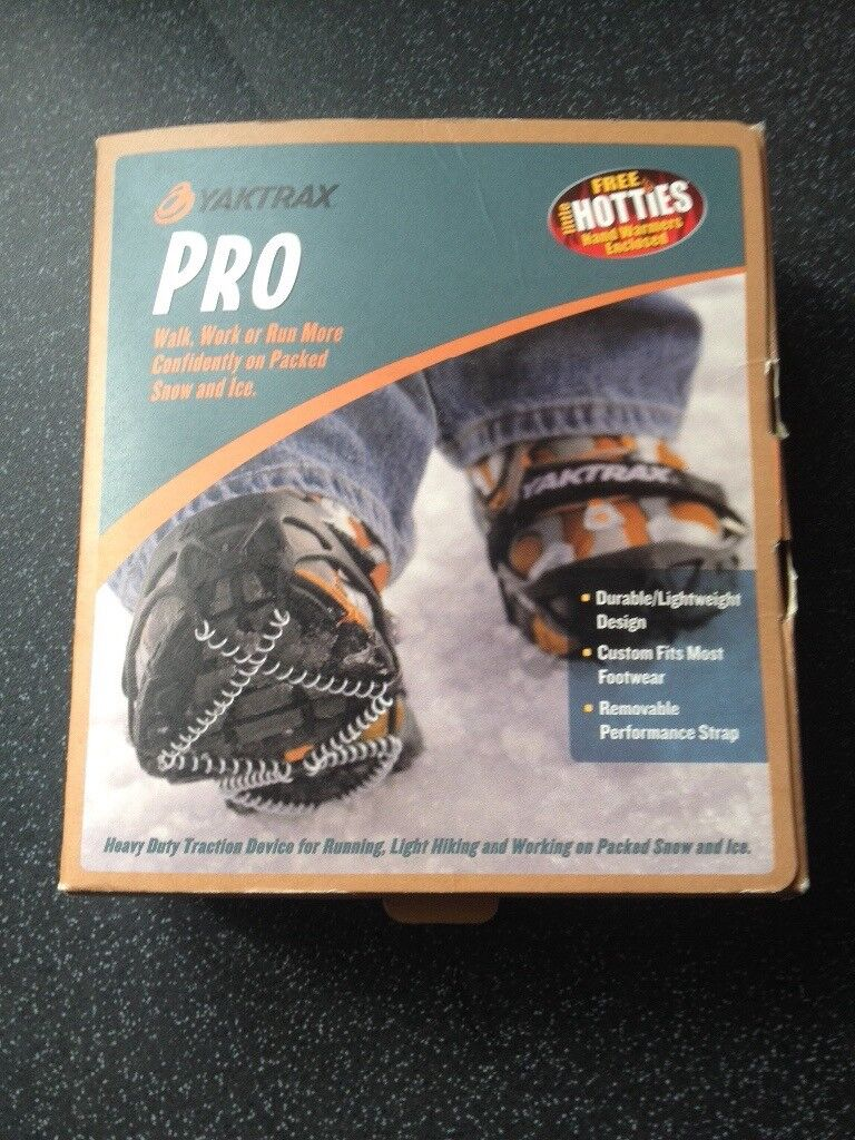 Ice Grippers - new, still in box