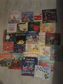 24 good condition kids books fiver the lot!