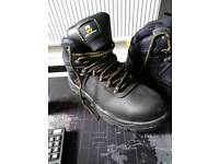Brand new steel toe cap boots size 8