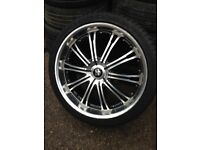 "22"" multi fit alloys"
