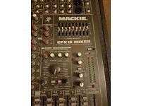 Mackie Mixer CFX16